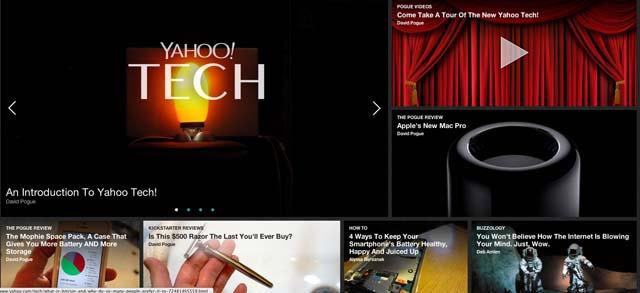 Yahoo Tech, Yahoo Food