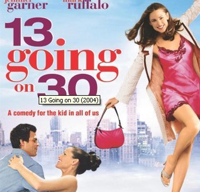 13 going on 30, romantic movies, valentines day, mark ruffalo, jennifer garner