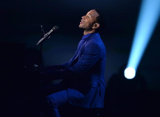 John Legend Beatles Anniversary, John Legend and Alicia Keys Performance Video, Beatles 50th Anniversary Video, Alicia Keys Beatles Performance Video