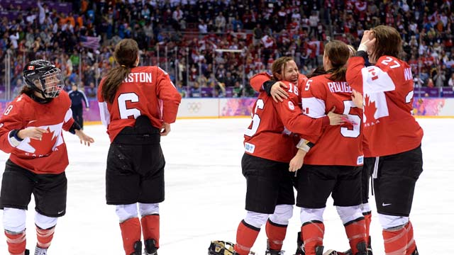 marie-philip poulin  Canada goalscorer