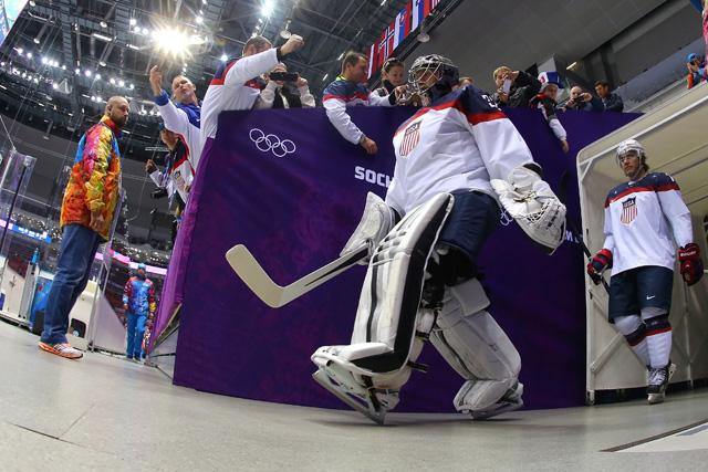 Jonathan Quick Team USA Team Canada