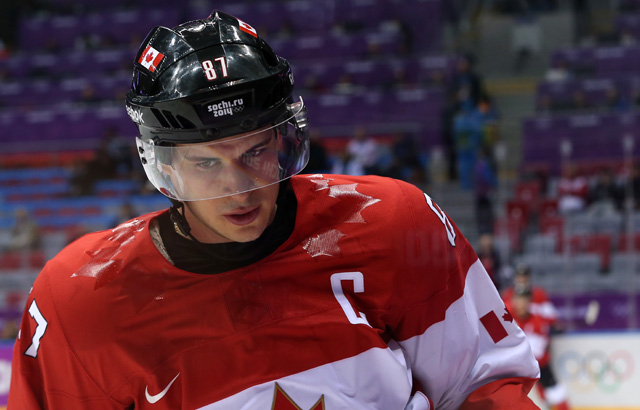 Sidney Crosby vs Team USA Sochi Olympics