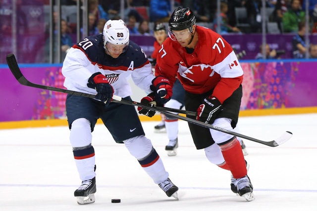 Ryan Suter, Hockey, Sports, Sochi Olympics, Team USA vs. Team Canada
