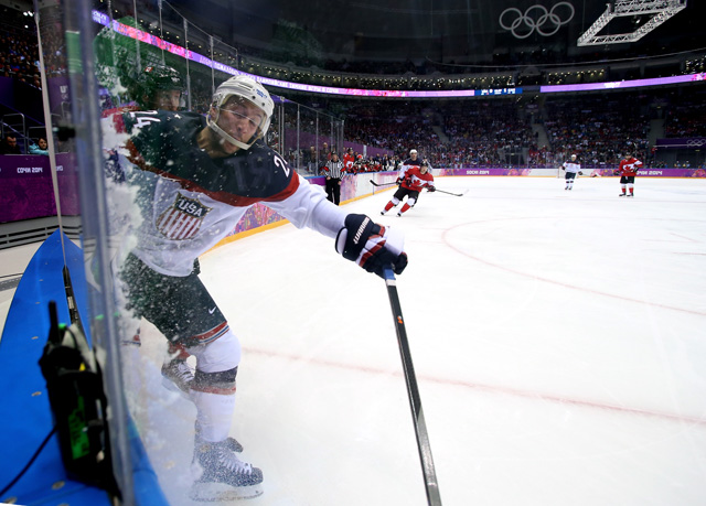 Ryan Callahan Team USA Sochi Olympcis