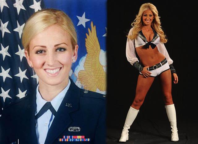(U.S. Airforce & Seattle Seahawks)