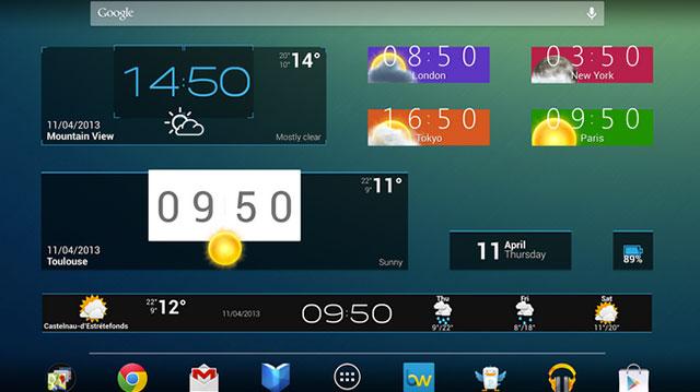 beautiful widgets android app