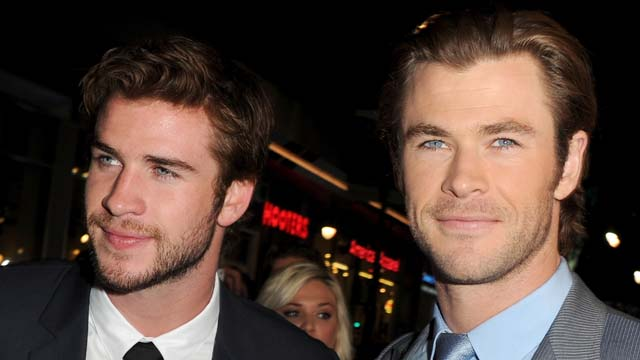 liam hemsworth chris, miley boyfriend, miley ex, chris hemsworth, thor, actor in thor, oscar presenters