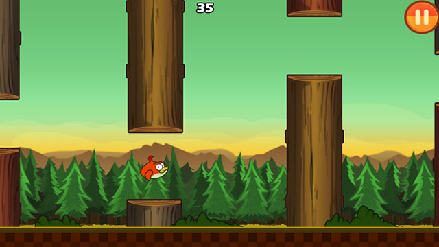 clumsy bird android app