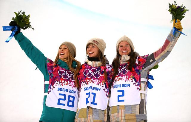 Kaitlyn Farrington, Kelly Clark, Sochi Olympics, Snowboarding, Sports