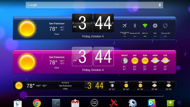 hd widgets android app