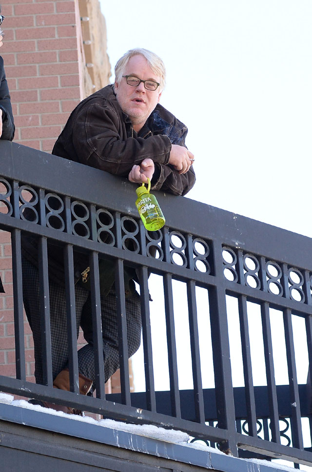 Hoffman was found today at 2 p.m. in his NYC apartment. (Getty)