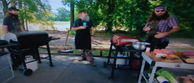 Duck Dynasty, Jase Robertson, Jase Duck Dynasty, Willie Duck Dynasty, Si Duck Dynasty, Burger Cookoff Duck Dynasty