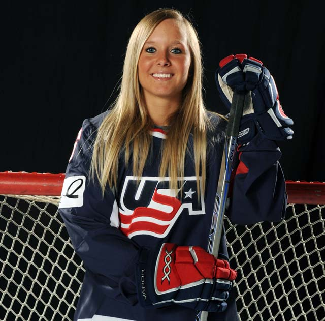 Kelli Stack, Sochi Olympics, Sports, Hockey