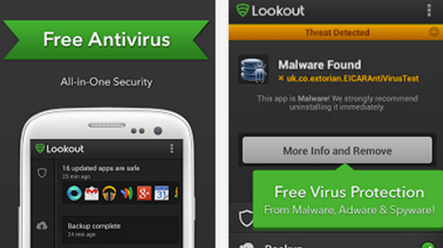 lookout mobile security android app