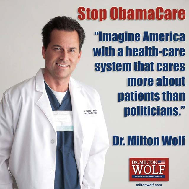 Milton Wolf Obamacare