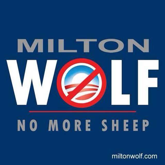 Milton Wolf Senate No More Sheep