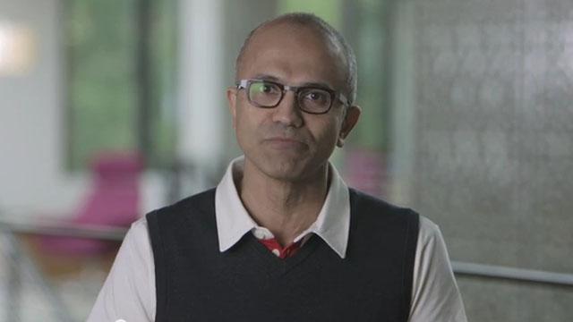 Satya Nadella has been announced as Microsoft's new CEO, replacing Steve Ballmer. (YouTube)