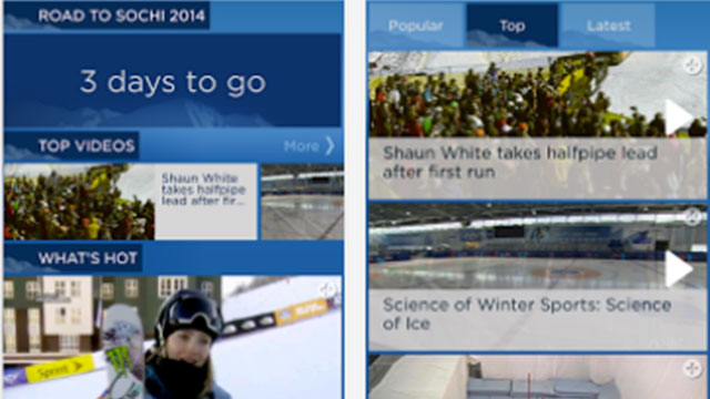 nbc olympics highlights android app update