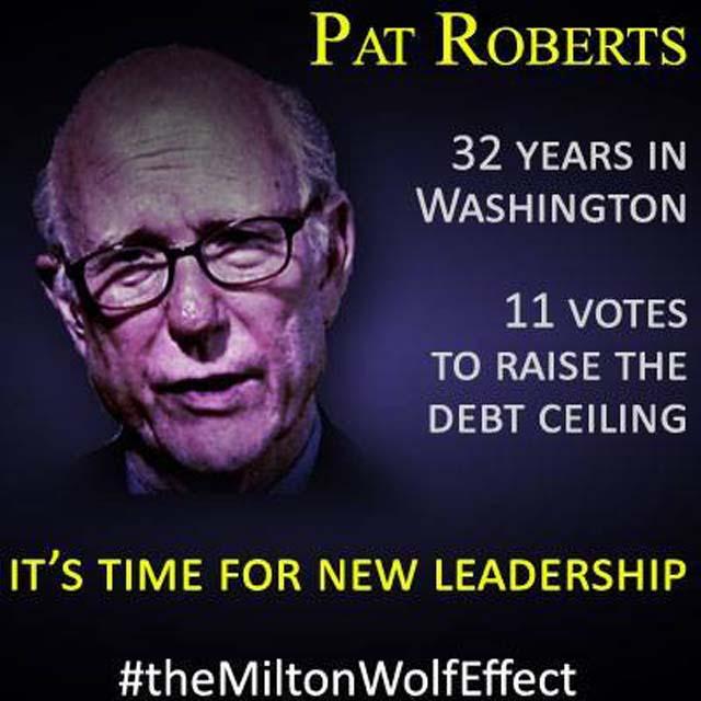 Pat Roberts Milton Wolf