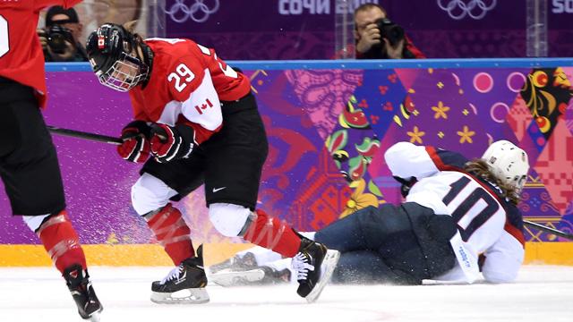 marie-philip poulin, canada hockey gold medal win sochi