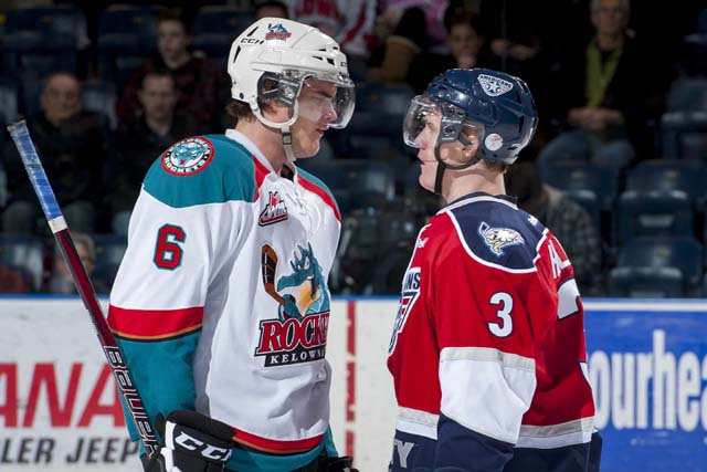 Benn played for the Kelowna Rockets of the WHL (Getty)