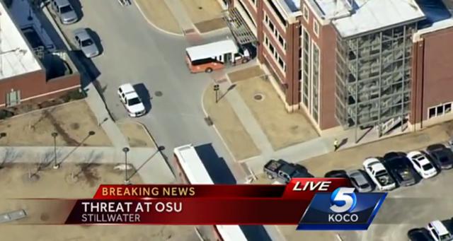 OSU Bomb Threat Multimodal Monroe Parking Garages Evacuation Bomb Threat