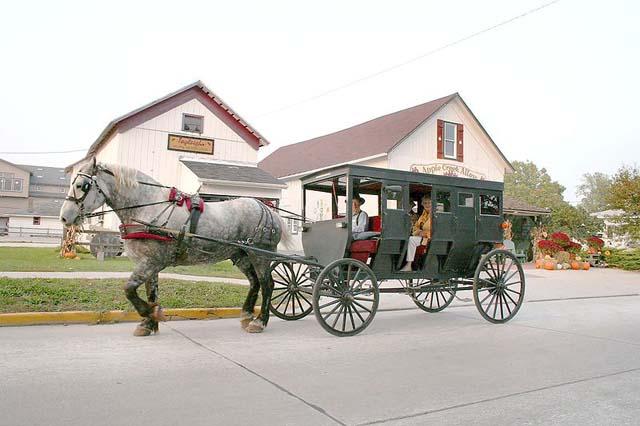 Shipshewana, Indiana. Via Wikipedia