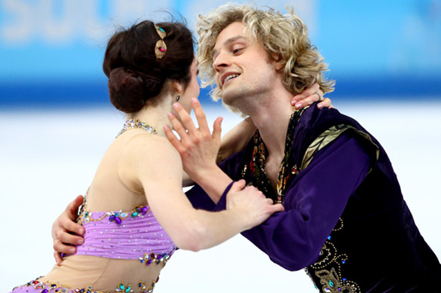 Sochi Olympics, ice dancing gold, davis and white, david and white not dating, sochi
