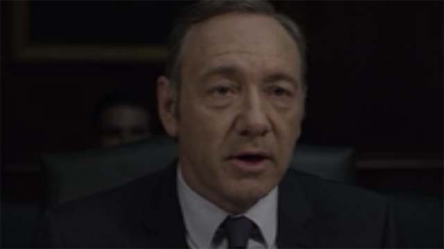 Frank Testifies House of Cards