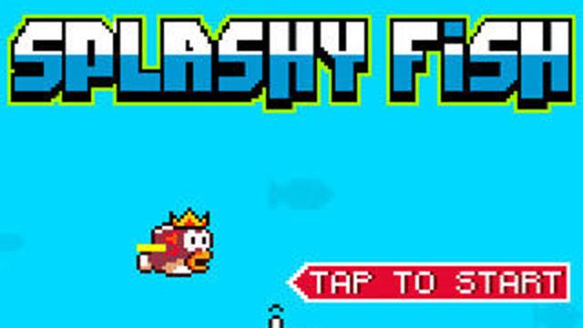 Splashy Fish Flappy Bird Alternative Dong Nguyen iTunes App store Google store