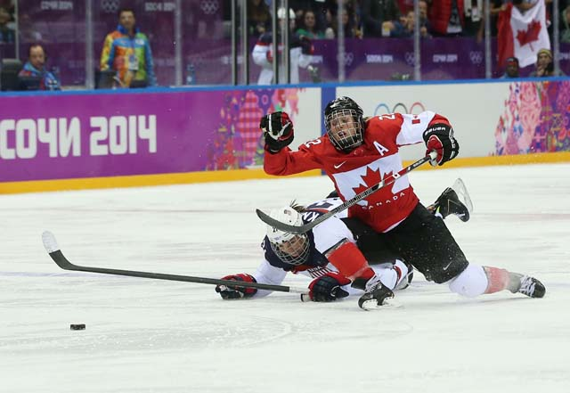 U.S. Women's hockey Team Canada's Hockey