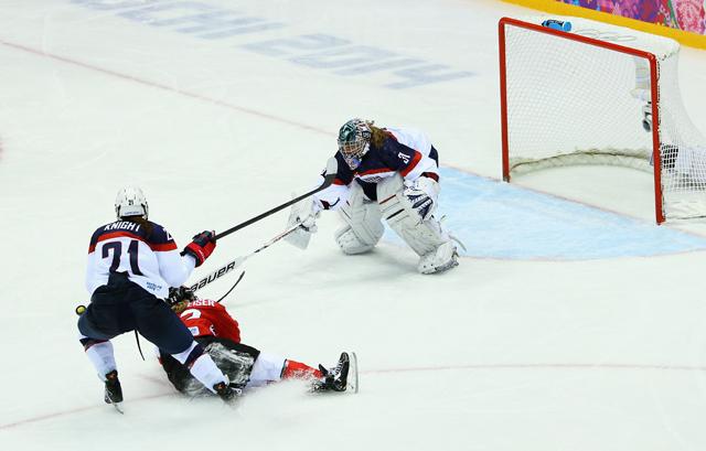 Hilary Knight, Sochi Olympics
