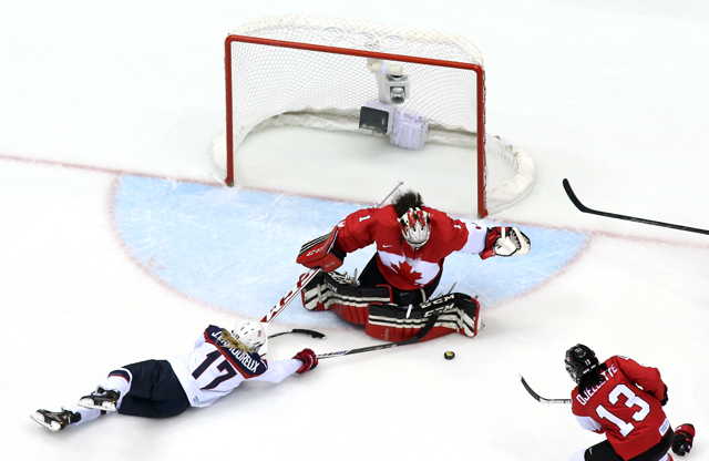 Shannon Szabados, Sochi Olympics