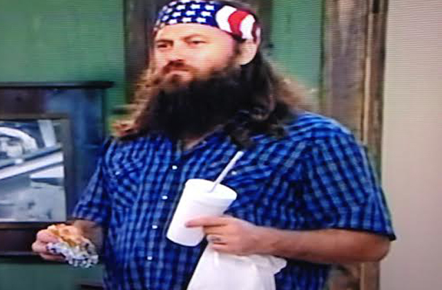 Duck Dynasty, Jep Robertson, Willie Robertson, Duck Dynasty burger