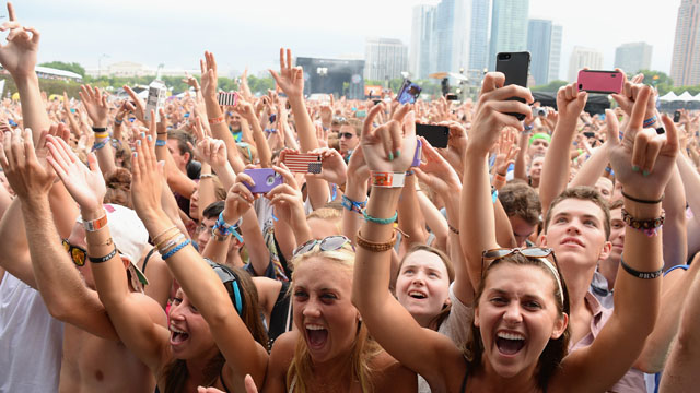 Lollapalooza line up annoucnement
