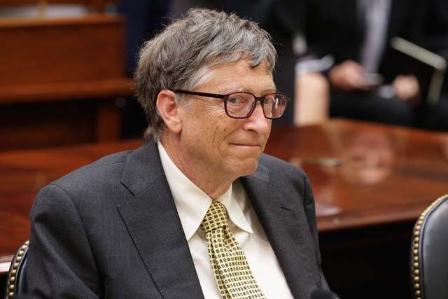 Forbes Richest People List Bill Gates