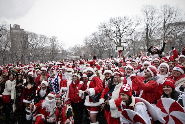 santacon new york city