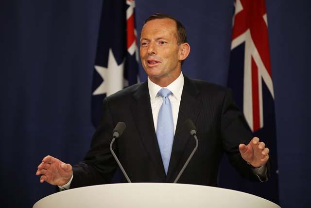 Tony Abbott Missing Flight 370