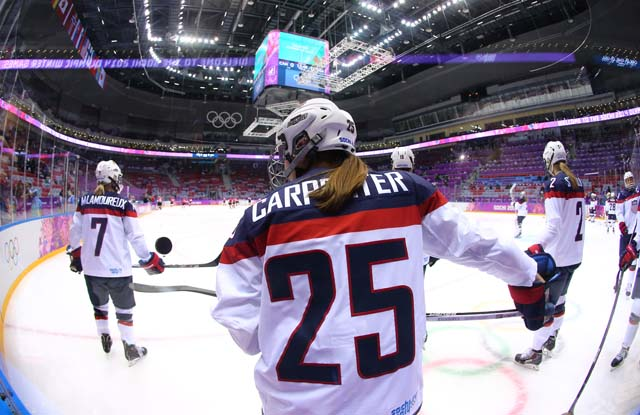 Team USA v Team Canada Sochi Olympics Gold Medal Game