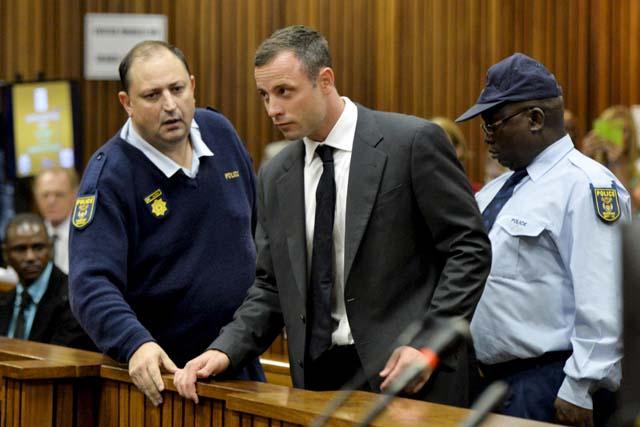 Oscar Pistorius Trial Pictures