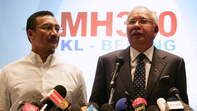 Malaysia Minister For Transport Plane Found