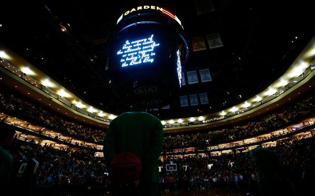 Celtics Tribute Firefighters