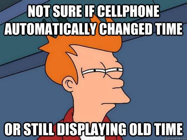 daylight saving time memes, dst memes, clock change memes