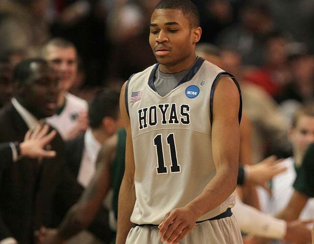 Did Zee Sanford play for Georgetown?