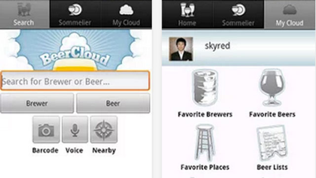 beercloud iphone android app