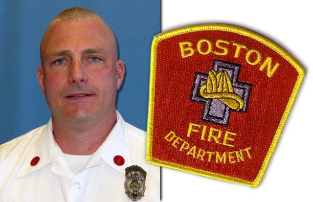 Ed Walsh Firefighter Boston