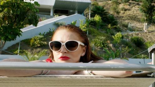 The Canyons, Lindsay Lohan, Dina Lohan, James Deen, Marlon Brando, Threesome, Sex, Thriller, Paul Schrader, Nudity, Kyle Buchanan