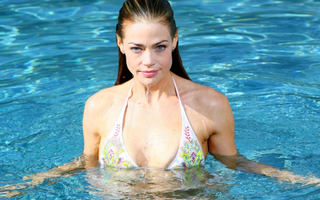 Denise Richards in a bathing suit