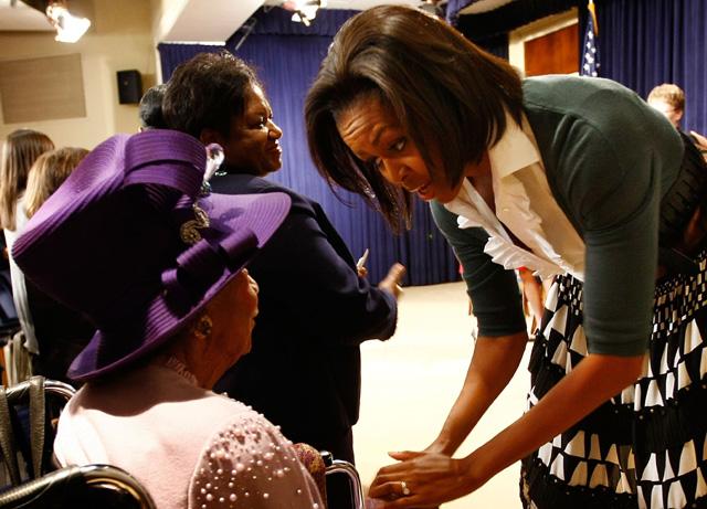 google doodle, Michelle Obama dorothy irene height
