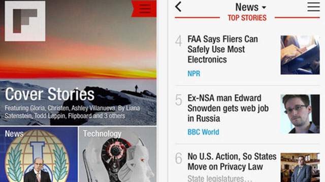 flipboard iphone app